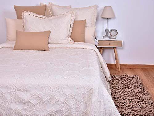 Mi Casa Rustykalna narzuta 200 x 265 cm, 80% bawełna, 20% poliester.