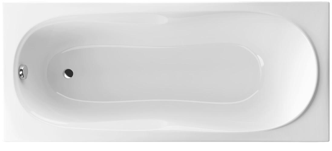 Excellent Sekwana wanna prostokątna 160x70 biała WAEX.SEK16WH