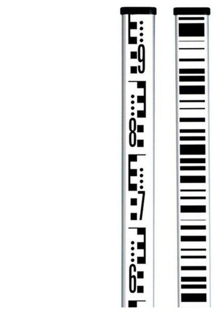 Łata kodowa aluminiowa, 5 m z libellą, Leica Sprinter GSS111