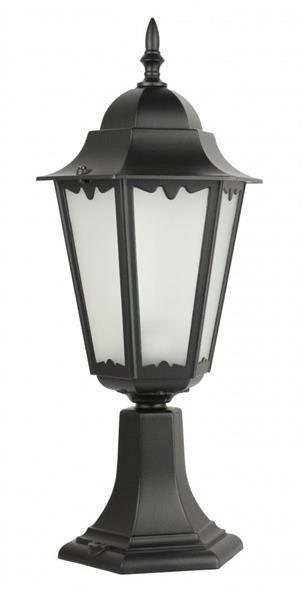 Lampa zewnętrzna kinkiet Retro Classic II K 4011/1 H czarny