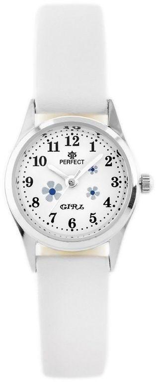 ZEGAREK DZIECIĘCY PERFECT G141 - white/silver (zp804a)