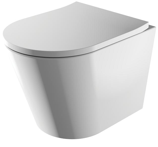 Omnires Tampa miska WC wisząca + deska wolnoopadająca TAMPAMWBP