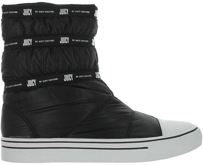 Śniegowce damskie Juicy Couture czarneJJ142-PBK