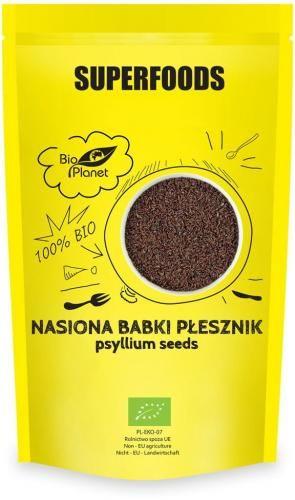 Nasiona babki płesznik BIO 250 g Bio Planet