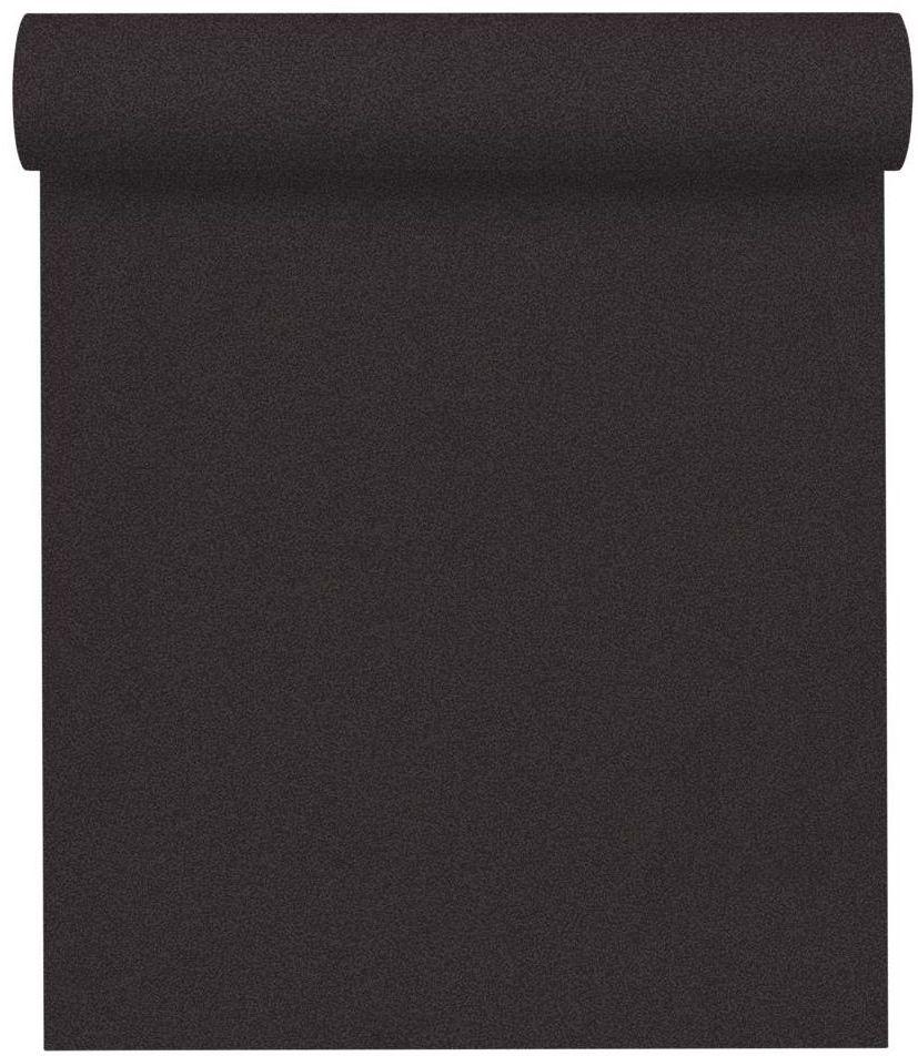 Tapeta jednobarwna czarna winylowa na flizelinie