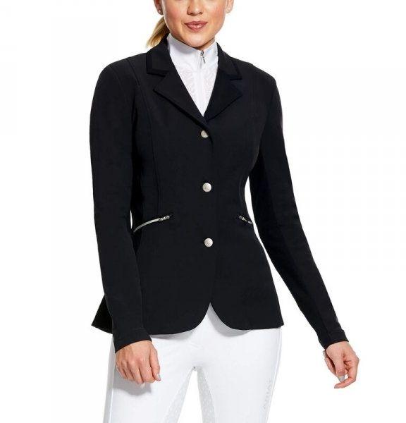 Marynarka konkursowa damska GALATEA SHOW COAT AE SS21 - Ariat - black