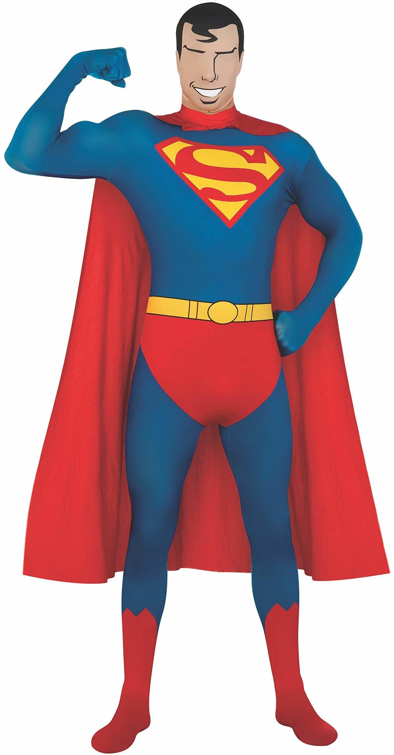 Rubie''s 880520M Superman kostium Superman pełne ciało stretch kostium, średni, męski