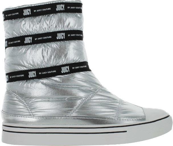 Śniegowce damskie Juicy Couture srebrneJJ142-SIP