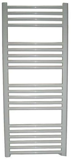 Grzejnik łazienkowy York - wykończenie proste, 600x1200, Biały/RAL - paleta RAL