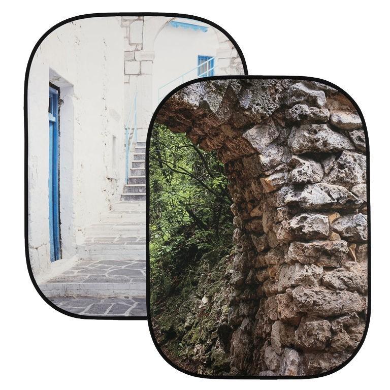 Lastolite LL LB5741 - tło składane Perspective Collapsible Stone Arch/ Grecian Steps 1,5x2,1m