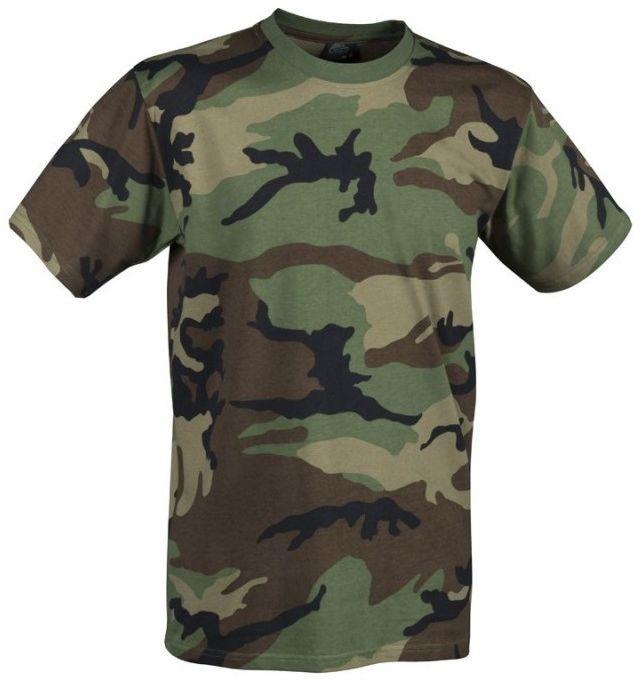 Koszulka T-shirt Helikon US Woodland (TS-TSH-CO-03)
