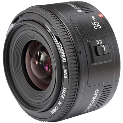 Yongnuo YN 35 mm f/2 - obiektyw stałoogniskowy do Canon EF Yongnuo YN-35 mm f/2
