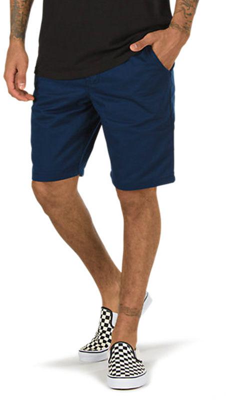 Vans AUTHENTIC STRETCH DRESS BLUES męskie spodenki jeansowe