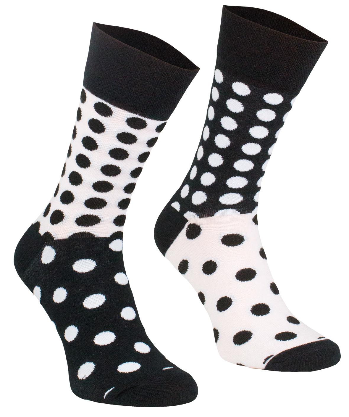 Grochy, Todo Socks, Czarno-białe, Kolorowe Skarpetki