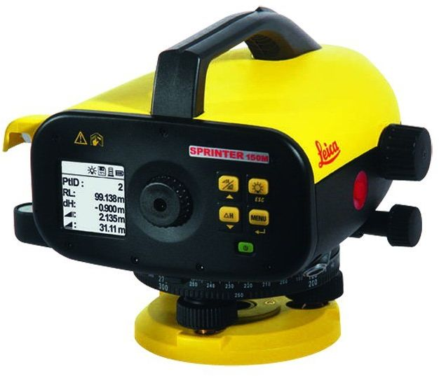 Niwelator elektroniczny kodowy Leica SPRINTER 250M