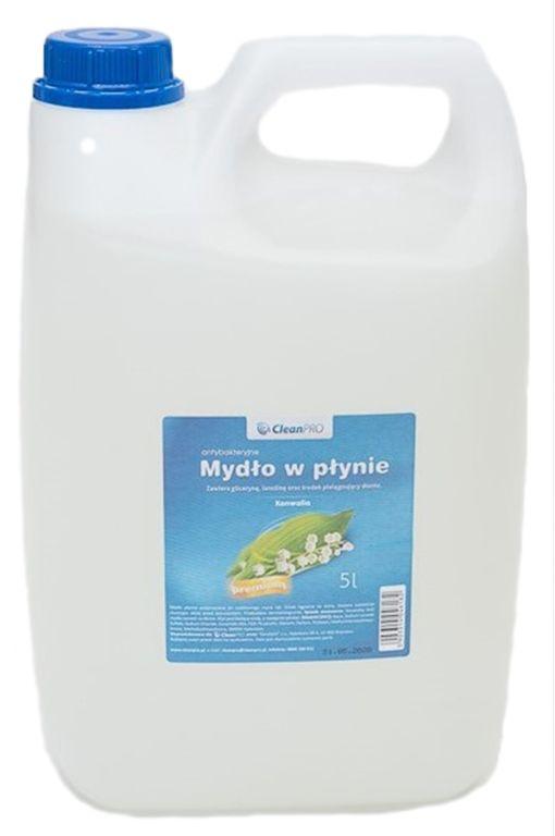 Antybakteryjne mydło w płynie CleanPRO PREMIUM konwaliowe 5 litrów