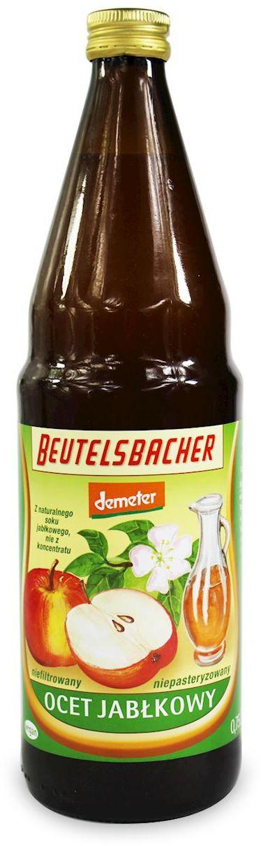 Ocet jabłkowy niefiltrowany bio 750 ml - beutelsbacher