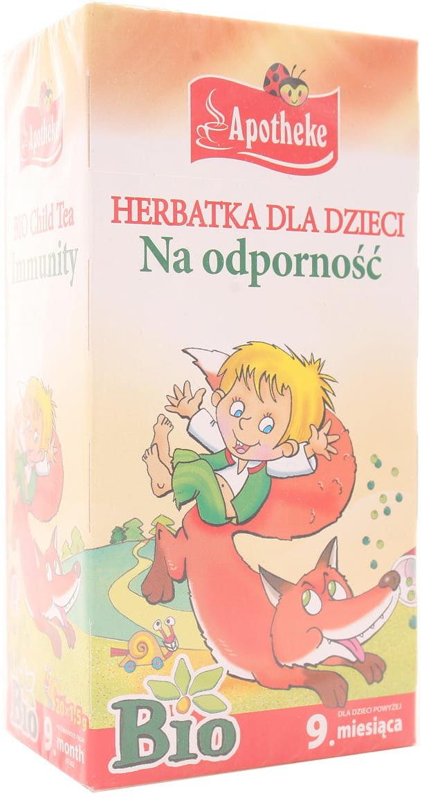 Herbatka dla dzieci na odporność BIO - Apotheke - 20sasz