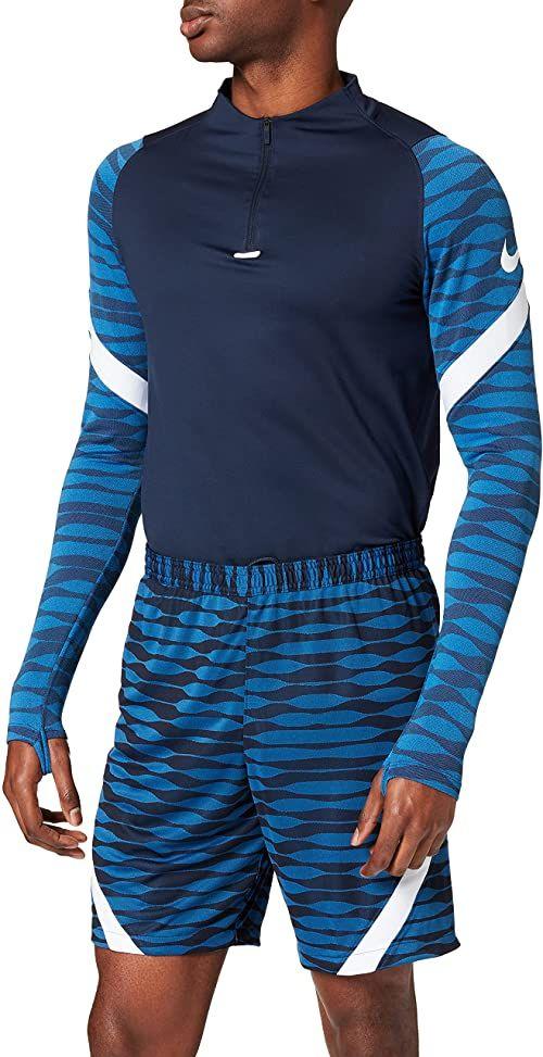 Nike Szorty męskie Strike 21 niebieski Obsydian/Royal Blue/White/White l