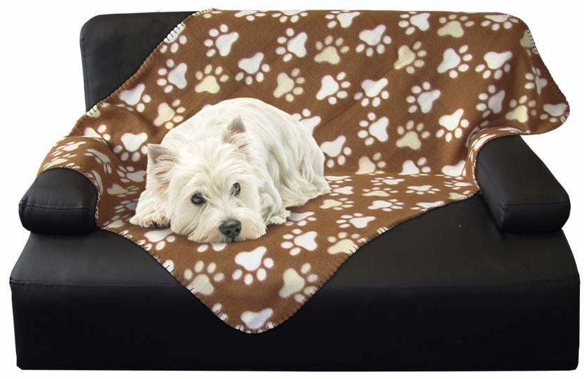 """NOBBY 60877 koc dla psa Classic """"PIPPA"""" brązowy dł. x szer.: 100 x 150 cm, dł. brązowy"""