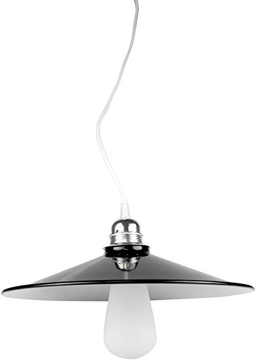 Segula Abażur metalowy - czarno-biały - E27 80516