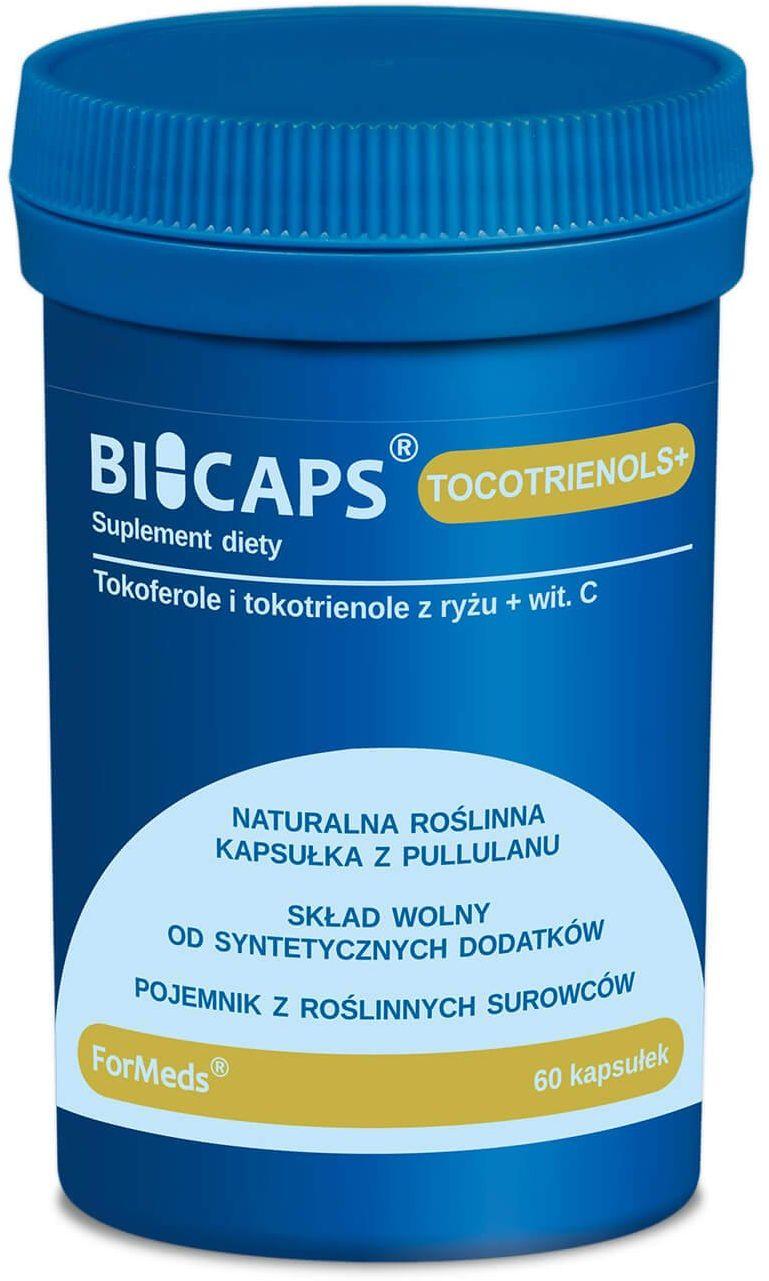 BICAPS Tocotrienols+ Tokotrienole + Witamina C (60 kaps) ForMeds