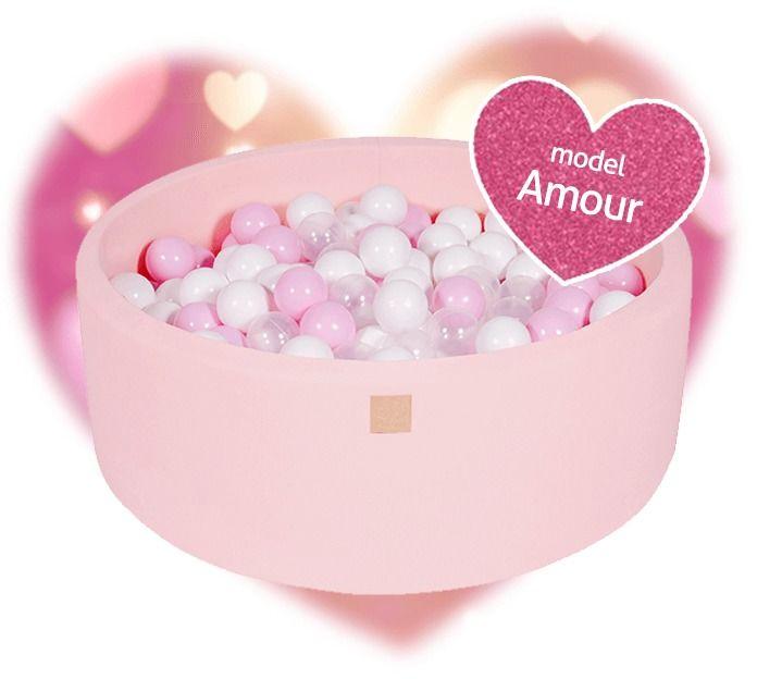 Suchy basen z 250 piłeczkami zestaw amour, meowbaby