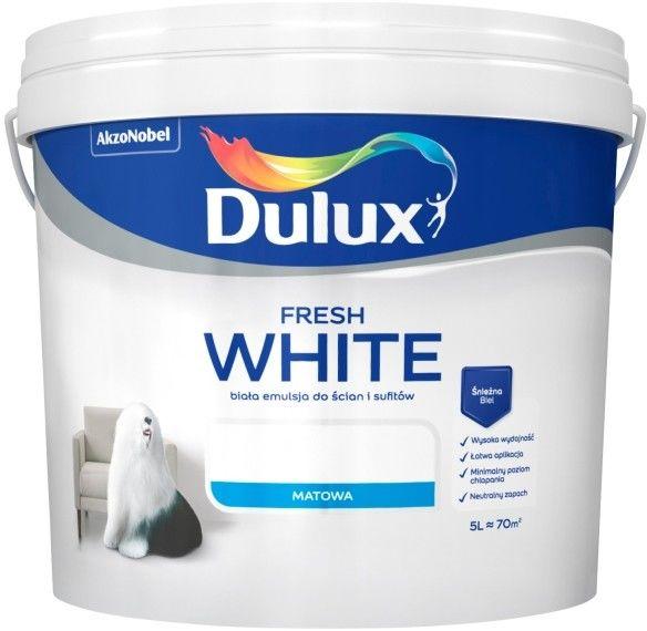Farba Dulux Fresh White 5 l