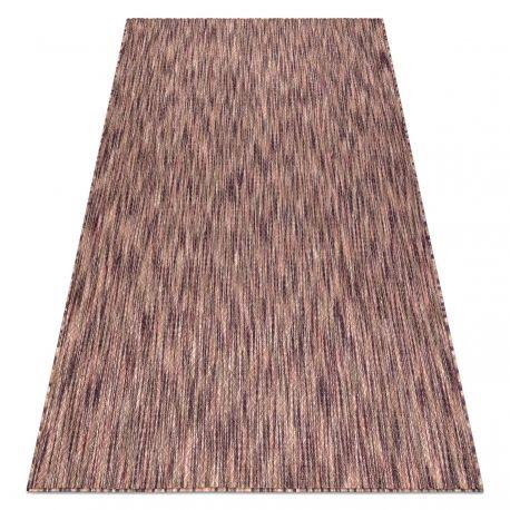 Dywan FISY nowoczesny, SZNURKOWY SIZAL 20975A purpura / róż 80x150 cm