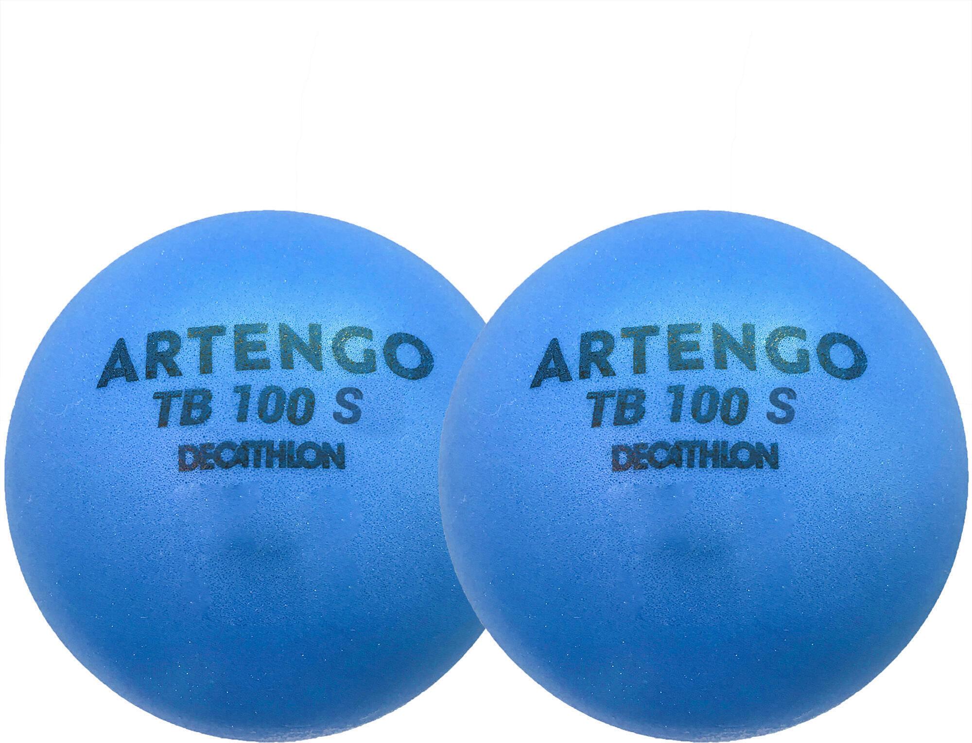 Piłka tenisowa z pianki Artengo TB100*2 7cm