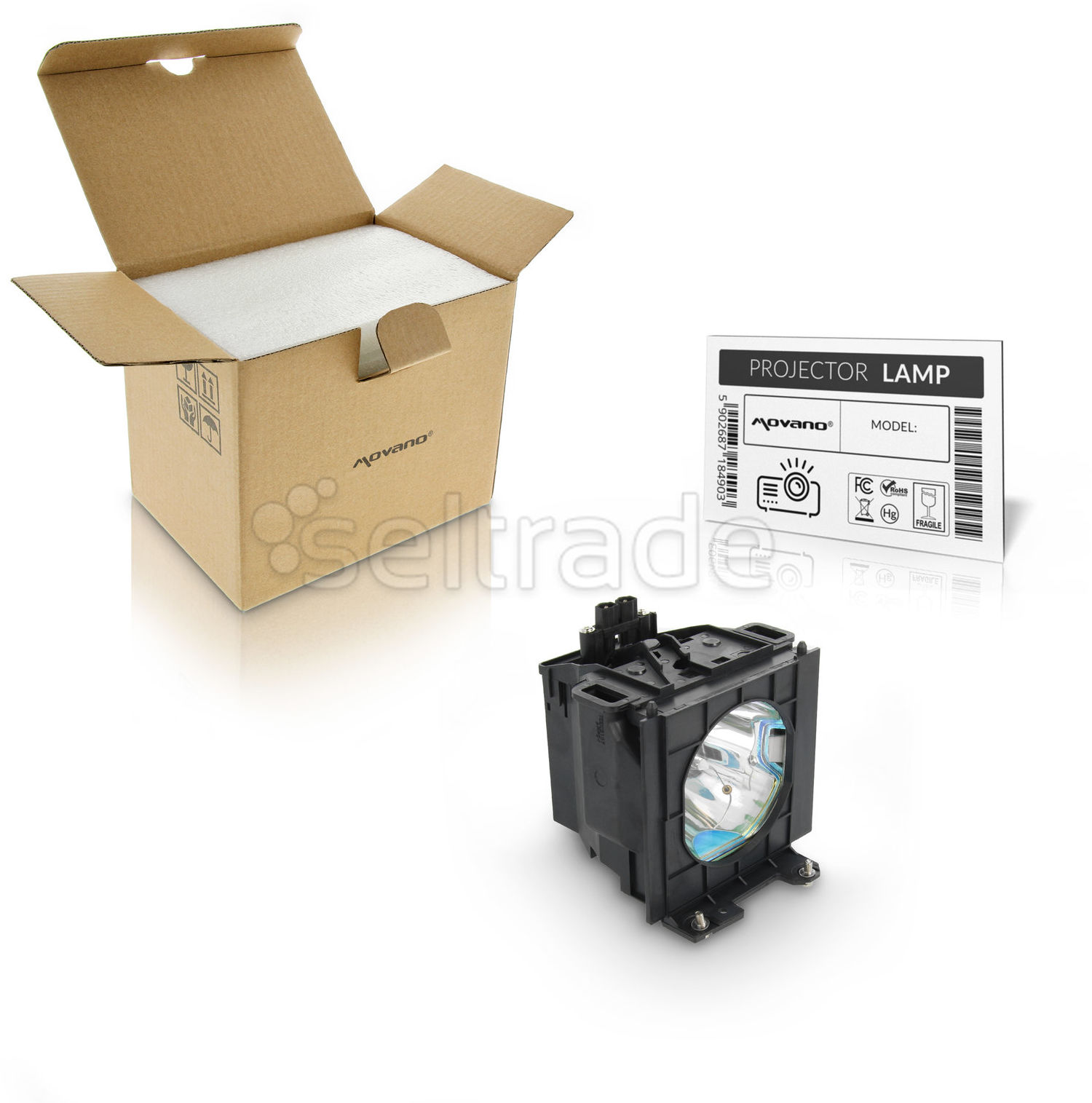 Lampa do projektora Panasonic PT-D3500 ET-LAD35