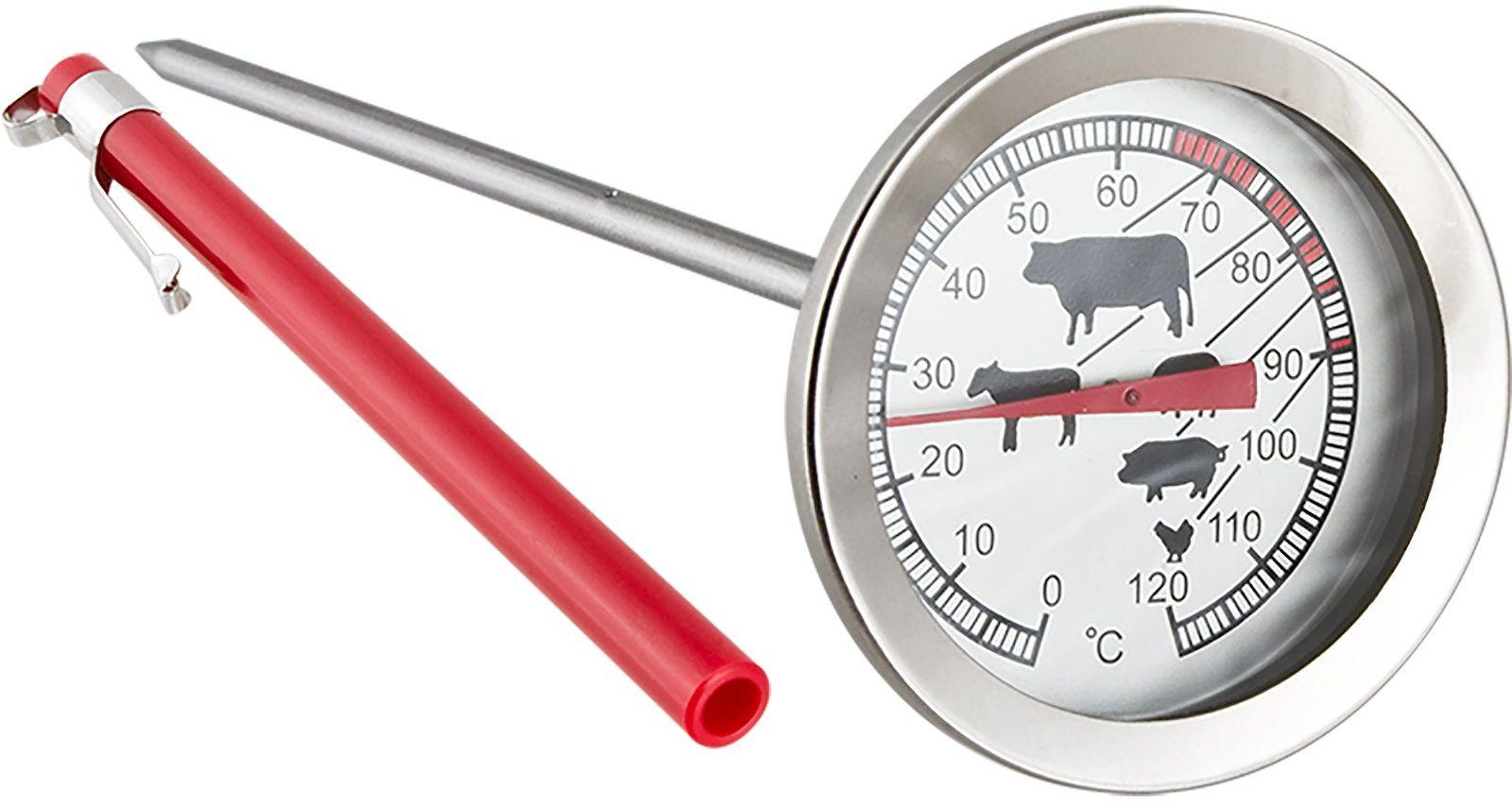 Termometr do pieczenia, wędzenia, gotowania +120 C