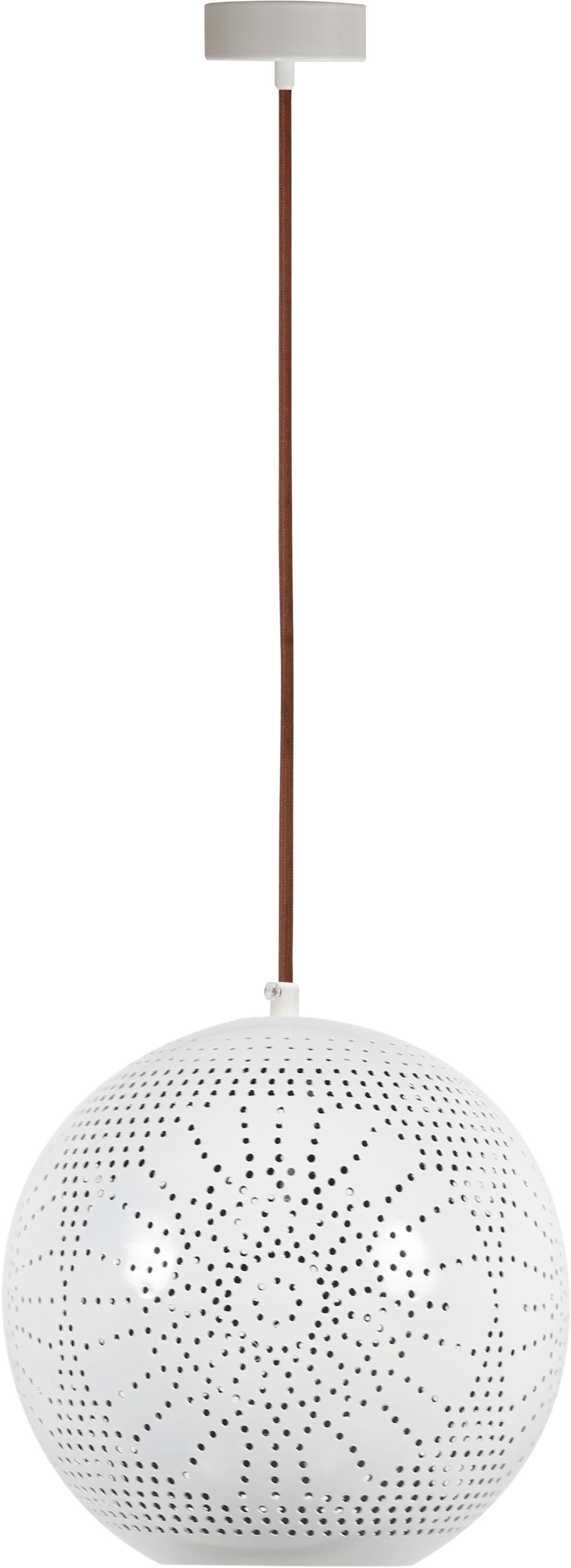 Candellux BENE 31-70586 lampa wisząca kula metalowy klosz ażurowy 1X60W E27 25cm