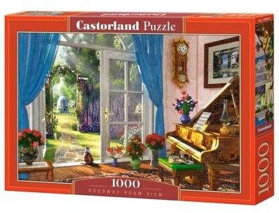 Puzzle Castor 1000 - Widok z pokoju, Doorway Room View