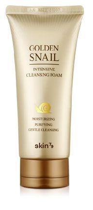 SKIN79 Golden Snail - Oczyszczająca pianka do twarzy ze śluzem ślimaka