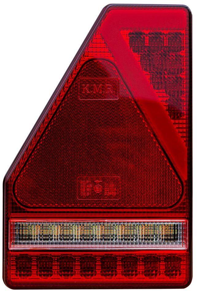 Lampa tylna LED TruckLED 5-funkcyjna trójkąt Lewa L1907