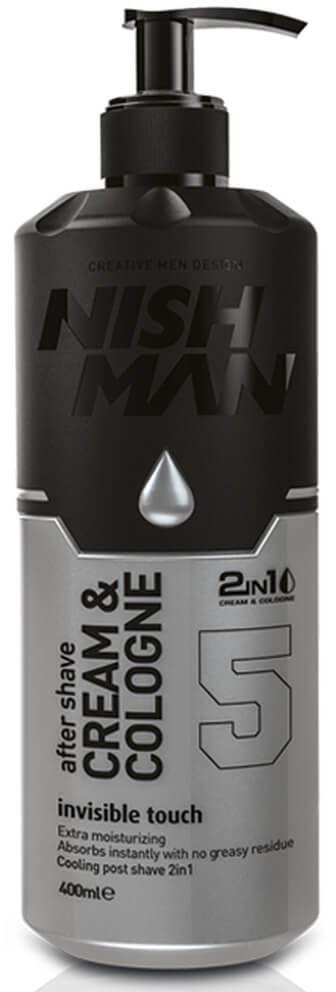 Nishman After Shave Invisible Touch No.5 Balsam-woda kolońska po goleniu dla mężczyzn 400 ml