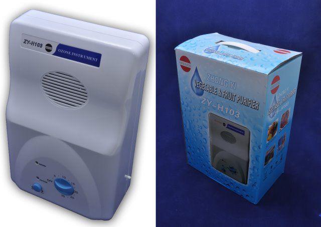 Generator ozonu ZY-H103 (ozonator i jonizator w jednym) powietrze, woda, żywność