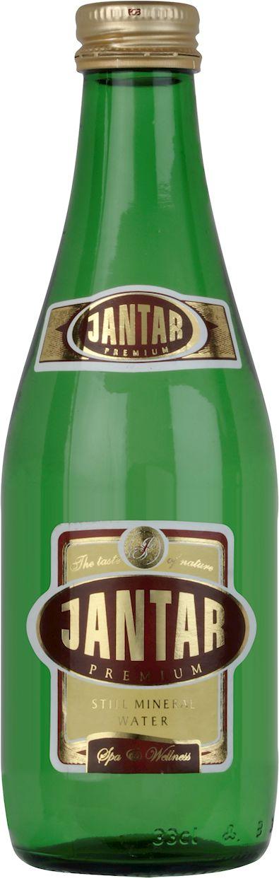 Woda źródlana średniozmineralizowana niegazowana szkło 330 ml - jantar
