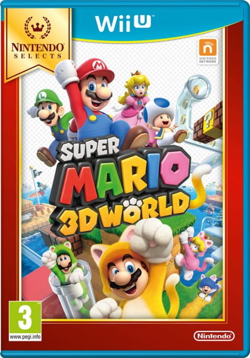 Gra Super Mario 3D World Selects (Nintendo WiiU)