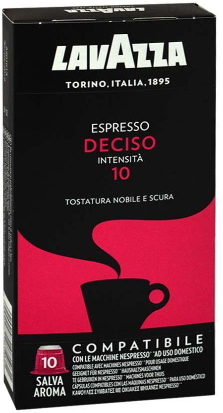 Lavazza Deciso Nespresso 10 kapsułek