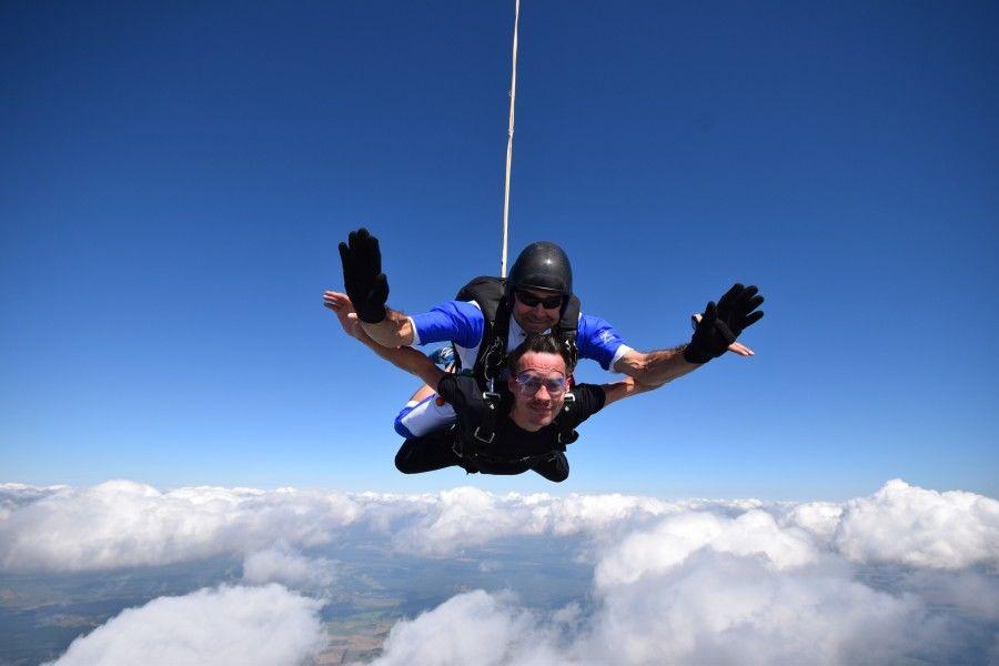 Skok ze spadochronem z wideorejestracją - Zielona Góra