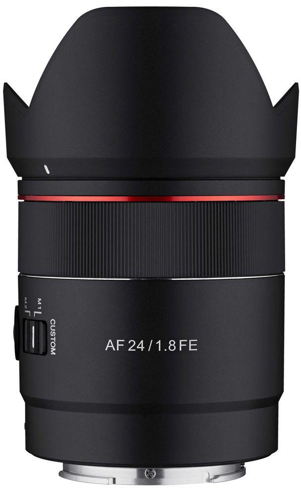 Obiektyw Samyang AF 24mm F1.8 Sony FE + Samyang Lens station