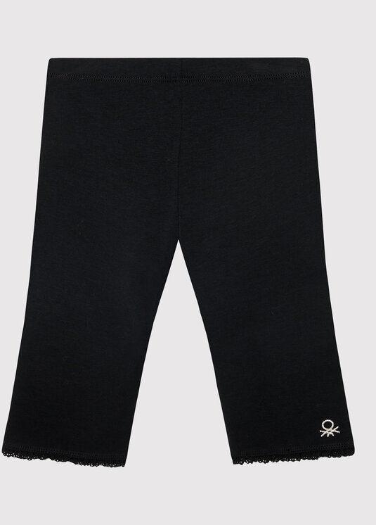 Legginsy 3MT1I0820 M Czarny Slim Fit