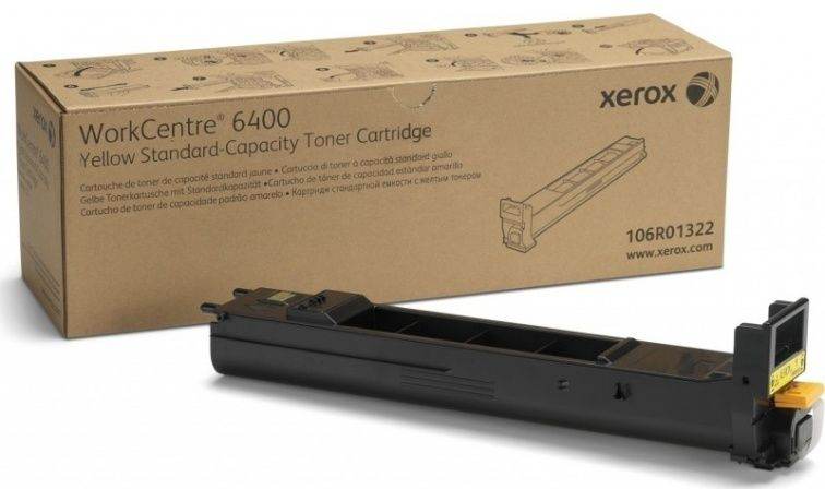 Toner żółty do drukarki XEROX WorkCentre 6400 (106R01322)