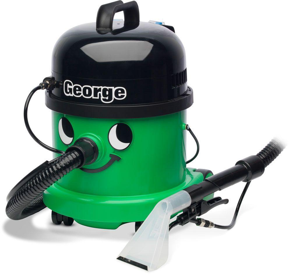 Numatic George GVE 370 odkurzacz piorący + zabawkowy Henry + 2 l płynu