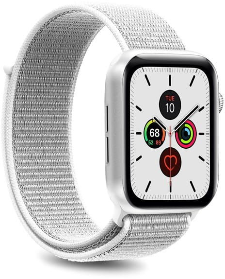 Nylonowy pasek PURO Band Apple Watch 38 / 40 mm (Biały)