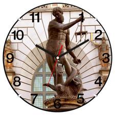 Zegar ścienny LOGO plastik convex