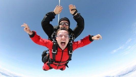 Skok ze spadochronem z wideorejestracją - Włocławek