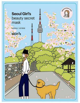 SKIN79 Seoul Beauty rozjaśniająca maseczka